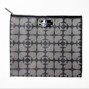 Kate Spade Adrianne Ace of Spades Pebble Leather Universal Square Tablet Case